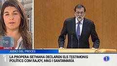 L'expresident Rajoy declararà dimarts