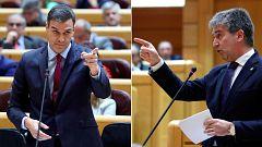 PP y ERC reprochan a Sánchez su gestión del diálogo con Cataluña en la sesión de control al Gobierno