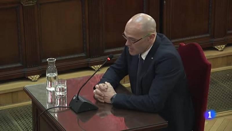 """Romeva se define como """"preso político"""" y defiende que el """"derecho de autodeterminación"""" no es delito"""