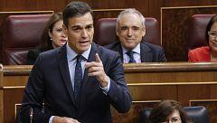 """Sánchez acusa a Rivera de ponerse la """"chaqueta de la ultraderecha"""" y éste le afea sentarse con """"golpistas"""""""