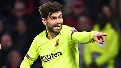 """Piqué: """"¿Las quejas del Madrid a los árbitros? Lo hacen a menudo"""""""