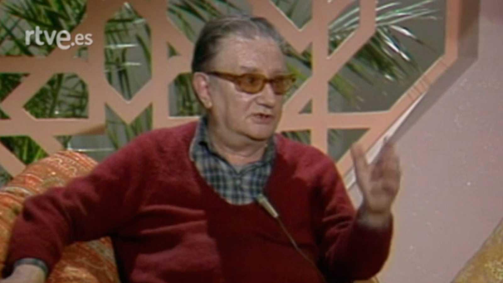 Arxiu TVE Catalunya - Terenci a la fresca - Joan Brossa