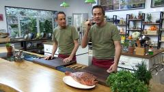 Torres en la cocina - Tartar de cabracho y paella de butifarra y pulpo