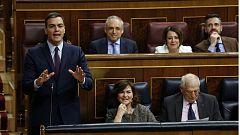 Sánchez recibe reproches de los principales grupos en la penúltima sesión de control al Gobierno