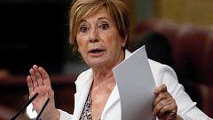 Celia Villalobos deja la política al acabar la legislatura sin cerrar un acuerdo sobre pensiones