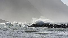 Levante fuerte en el Estrecho