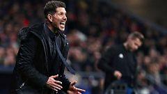 """Simeone: """"Había que tener huevos para poner a Costa o a Koke y salió bien"""""""