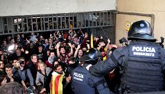 Tres detenidos y 22 heridos en la huelga de Cataluña
