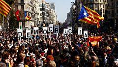 Los incidentes durante la huelga general en Cataluña se saldan con varios detenidos, heridos y carreteras cortadas