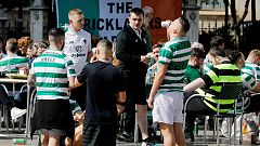 Detenidos seis aficionados del Celtic en Valencia