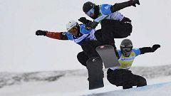 La estación de Baqueira Beret construye el circuito de la Copa del Mundo Snowboardcross