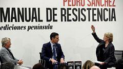 """Sanchez en la presentación del libro: """"oye, que he venido a hablar de mi libro"""""""
