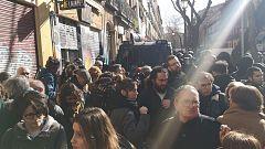 Seis detenidos en Lavapiés por intentar frenar cuatro desahucios