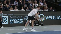 Tenis - ATP 250 Torneo Marsella 1/4 Final: M. Bachinger - U. Humbert