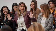 """Susana Díaz responde a Vox: """"La medida me ha causado estupor. Me ha sonado a purga, persecución y listas negras"""""""