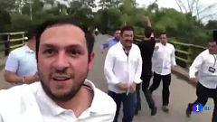 Guaidó de nuevo en Cúcuta en un momento de máxima tensión en la frontera entre Colombia y Venezuela