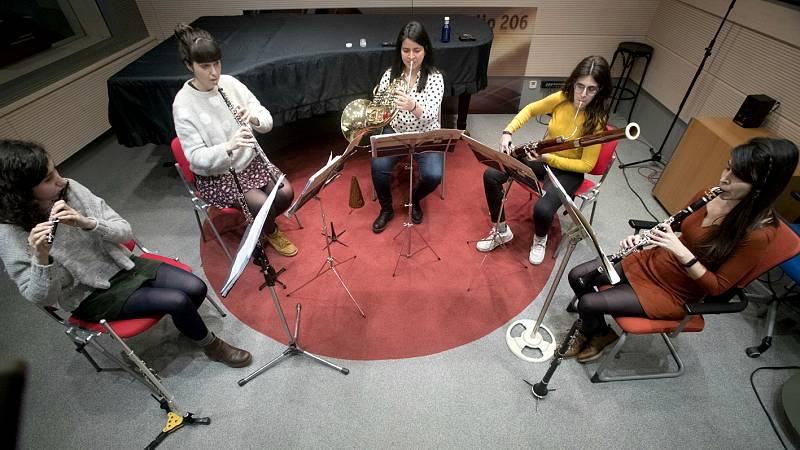 Quinteto O'Globo en 'Andante con moto' - ver ahora