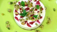 Torres en la cocina - Tarta de frambuesas y pistachos