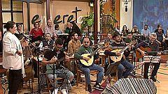 Tenderete - 24/02/2017 con Los Tendereteros, solistas y el timplista Juanma Benítez