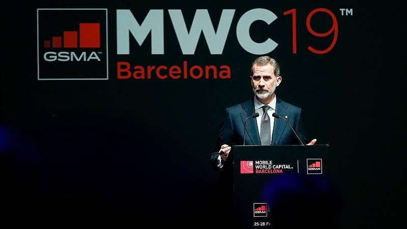 """Felipe VI asegura que la Constitución ha representado un """"éxito político sin precedentes"""" en la historia de España"""