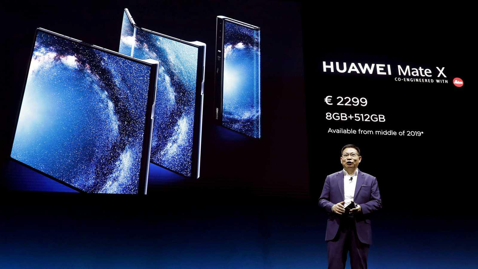 Huawei se apunta a la fiebre de los plegables con el Mate X