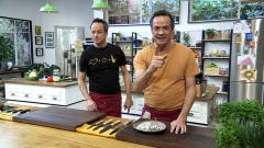 Torres en la cocina - Arroz con sepia y morcilla. Tarta de frambuesas