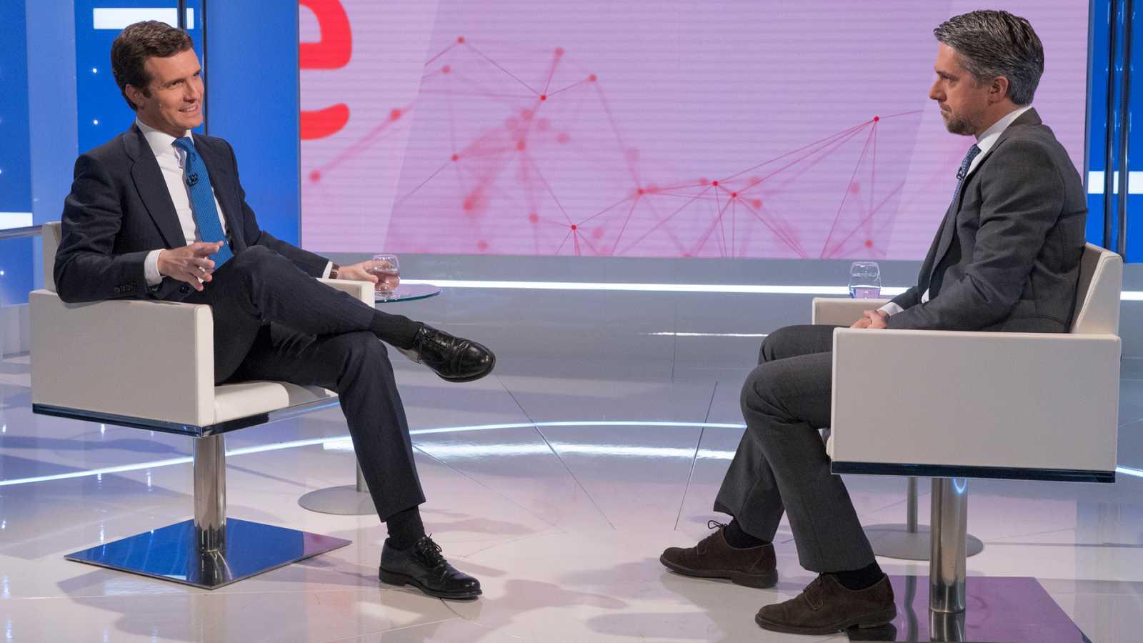 Entrevista íntegra de Pablo Casado en el Telediario