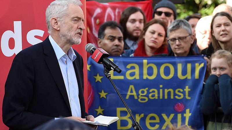 Brexit: Los laboristas plantearán otro referéndum