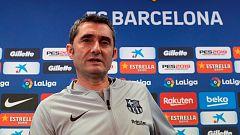 """Valverde: """"Es un partido que está abierto y esperamos pasar"""""""