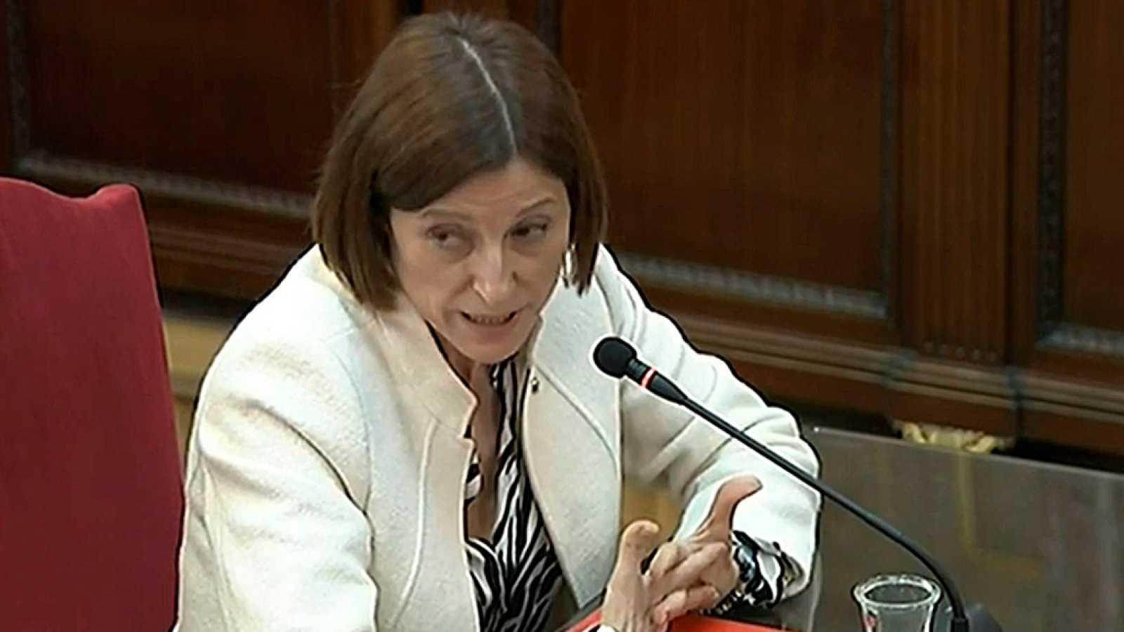 Carme Forcadell se desvincula del liderazgo en el 'procés'