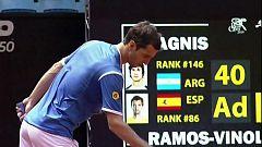 Tenis - ATP 250 Torneo Sao Paulo: F. Bagnis - A. Ramos-Vinolas