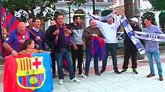 Madrid-Barça, máxima rivalidad en Lepe
