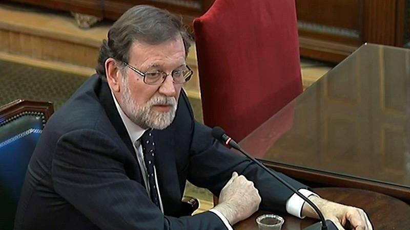 """Rajoy:""""Eran plenamente conscientes de que yo no iba a convocar un referéndum para liquidar la soberanía nacional"""""""