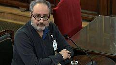 El exdiputado de la CUP Antonio Baños se niega a responder a Vox en el juicio del 'procés'