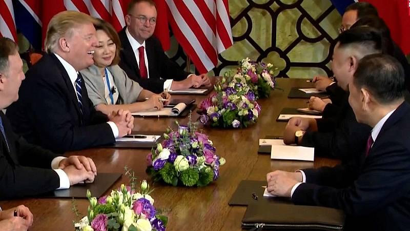 Kim Jong-un dice que no estaría en Vietnam si no quisiera la desnuclearización