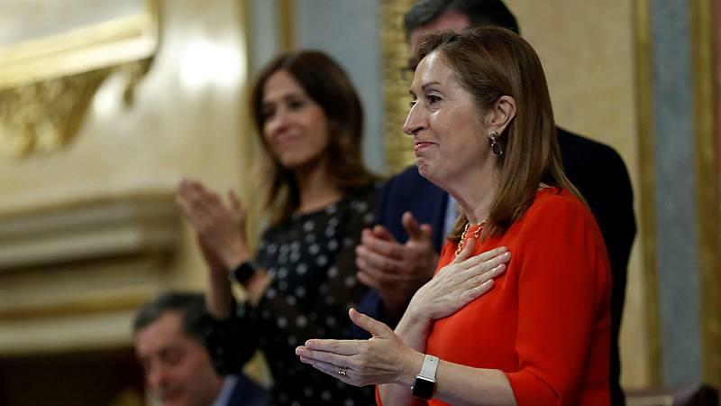 """Ana Pastor despide la duocécima legislatura del Congreso: """"Valió la pena por ustedes, por España y por los españoles"""""""