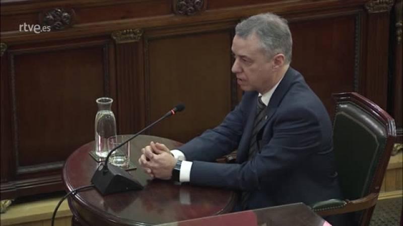 "Urkullu revela contactos directos con Rajoy como ""intercesor"""