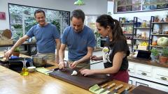 Torres en la cocina - Pollo al limón con ñoquis y crujiente de plátano