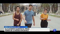 Els Catarres guanyen el disc català de l'any