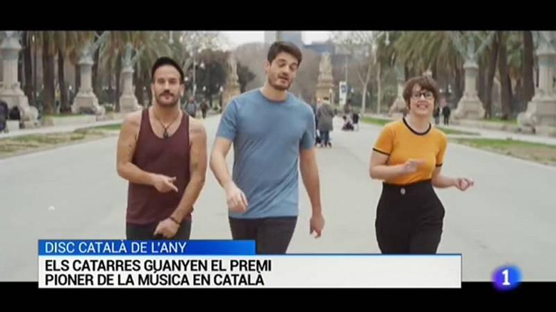 Els Catarres guanyen el disc català de l'any organizat per Ràdio 4 - RTVE.es