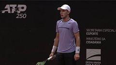 Tenis - ATP 250 Torneo Sao Paulo. 1ª Semifinal: C.Ruud - C.Garín
