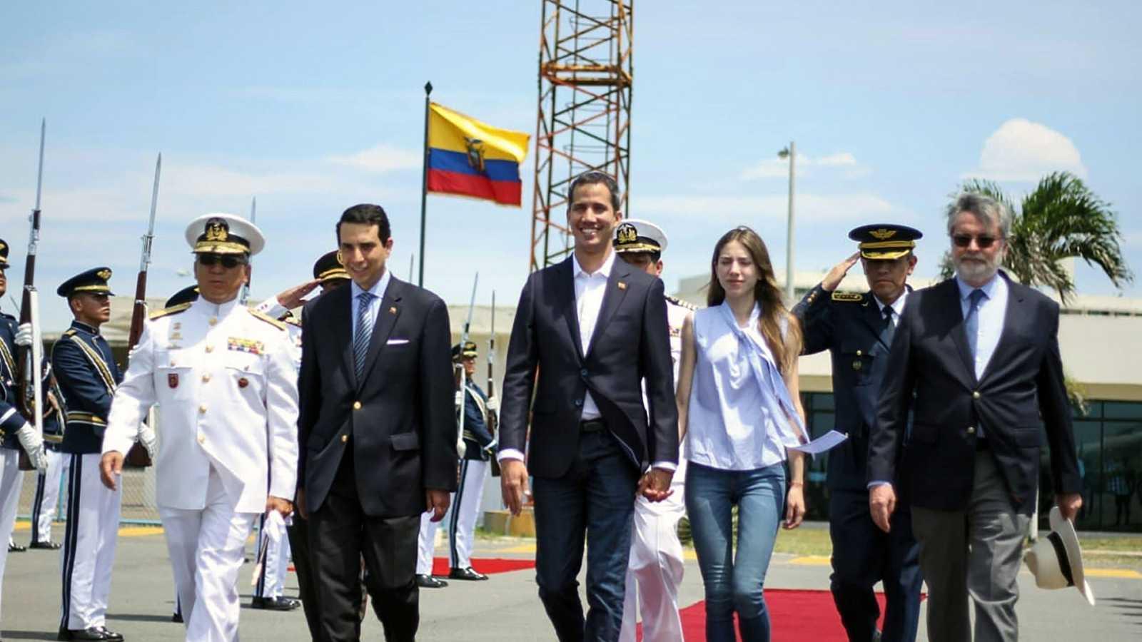 Guaidó podría entrar en Venezuela por vía terrestre desde Colombia