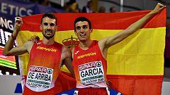 """Álvaro de Arriba: """"La carrera ha salida perfecta, me he encontrado muy bien"""""""