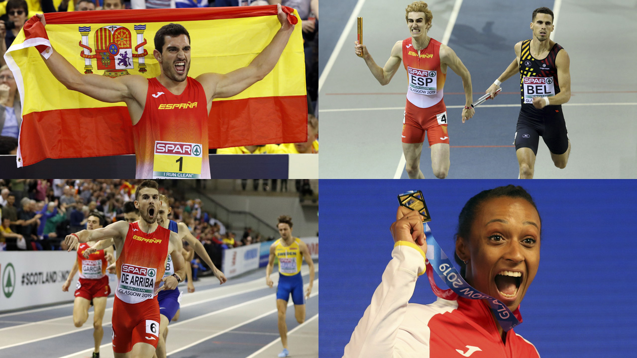 Campeonato de europa de atletismo 2020 medallas