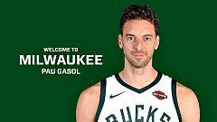 Los Bucks le dan a Pau Gasol un nuevo sueño que tal vez no esperaba