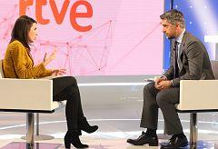 Entrevista íntegra a Irene Montero en el Telediario de TVE