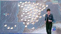 Hoy, vientos fuertes en el noroeste y lluvias en el tercio oeste y centro
