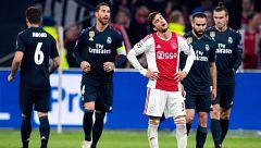El Madrid recibe al Ajax como prueba a su reacción