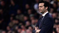 """Santiago Solari: """"No vine en un momento difícil del club para rendirme"""""""