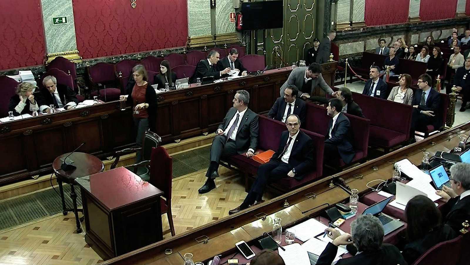 """La secretaria judicial del 20S asegura que tuvo """"miedo"""""""